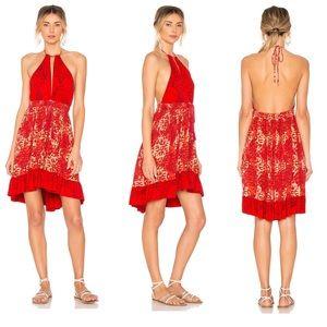 NWT Free People Beach Day Mini Dress Tassels XS